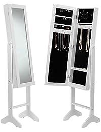 Armoires bijoux - Miroir avec rangement bijoux ...