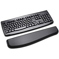 Kensington ErgoSoft - Reposamuñecas para teclados estándar, Color Negro