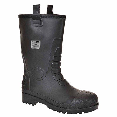 SUW–Neptune Rigger Workwear Knöchel Sicherheitsstiefel S5CI, EU 39 - UK 6, hautfarben, 1 schwarz