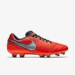 Nike Herren Tiempo Mystic V Fg Fußballschuhe, Flamingo/schwarz, 44.5 EU