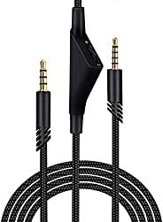 SAMERIVER A10 Cord Replacement with Volume Control, A40 Cable Works with A40 /A40 Gaming Headset Cable, A10 He