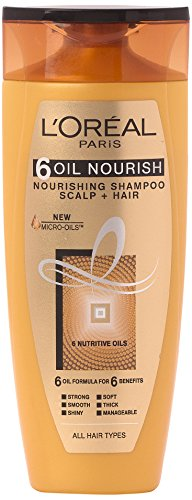 L'Oreal Paris 6 Oil Nourish Shampoo Scalp and Hair , 175ml image