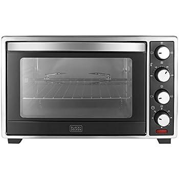 Black + Decker 48 Ltr Oven Toaster Grill,Grey/Black