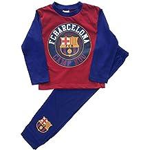 Chicos Barcelona Football Club Pijamas Dos Piezas Edad 4-12 años