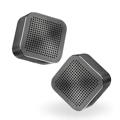 Altavoz Bluetooth Hi-Fi, Altavoz portátil inalámbrico D-Stereo 5 h de Tiempo de...