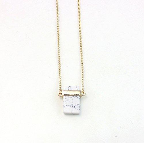 Nolunt collana di marmo della collana del