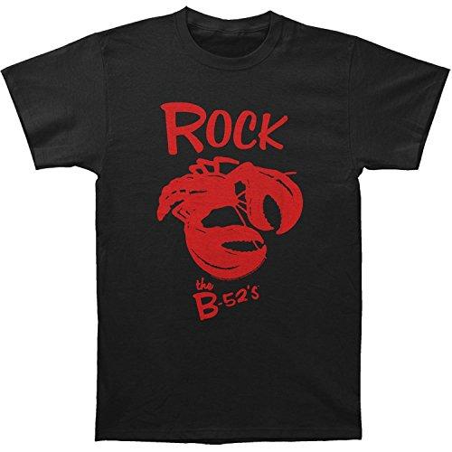 B-52s Men's Rock Lobster Slim Fit T-shirt X-Large Black
