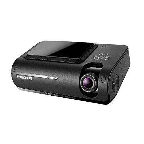 THINKWARE F77016GB 1080P Full HD Dashcam con Construido en Wi-Fi, GPS, A7procesador Ambarella, ADAS y Rojo luz/Velocidad cámara Sistema de Alerta, Super visión Nocturna y lapso de Tiempo