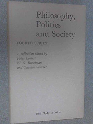 Philosophy, Politics and Society
