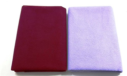 Excellent-Dry-Waterproof-Bed-Protector-Large-Maroon-Lilac-Large
