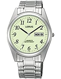 Lorus RXN29BX9 Gents Lumibrite Expanding Bracelet Watch