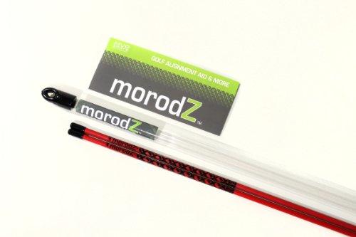 Morodz Golf Alignment Aid & More - Alignment Sticks (Rot) (Training Golf Alignment Aids)