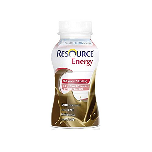 Nestle Trinknahrung Resource® Energy Kaffee, 200ml, 4 Stück -