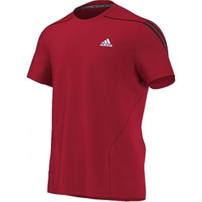 Adidas OZ Tee M T-Shirt Herren Sportshirt Scarle von Adidas auf Outdoor Shop