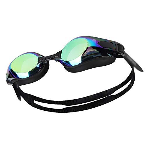 WZHGLASSES Schutzbrillen-Schwimmen-Gläser Männer Und Frauen-Berufsschwimmausrüstung Im Freien Mehrfarben Wahlweise Freigestellt (Farbe : F)