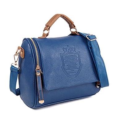 Eleery 01C0134 - Bolso de tela para mujer azul large