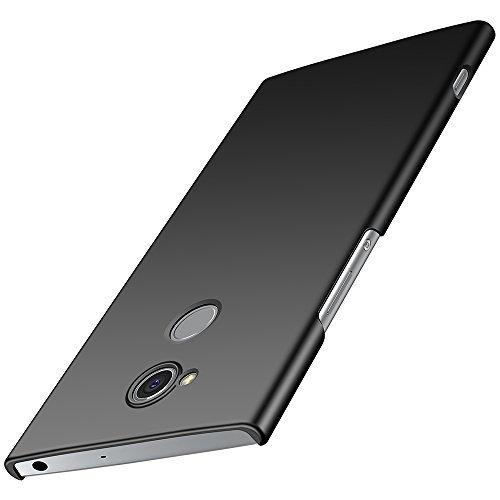 anccer Sony Xperia XA2 Hülle, [Serie Matte] Elastische Schockabsorption und Ultra Thin Design für Sony Xperia XA2 (Nicht für Sony Xperia XA2 Ultra)-Glattes Schwarzes