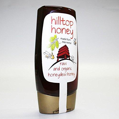 Hilltop Honey   Honeydew Honey - Raw, Organic   2 x 10 x 370g