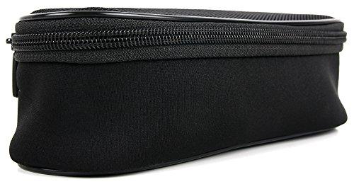 DuraGadget - RasiererEtui | Case | Hülle | Reiseetui | Netztasche für Ihren Remington F7800 Herrenrasierer Titanium-X Dual Foil | Beard Boss Professional Bartschneider MB4130