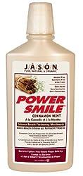Jason Powersmile Cinnamon Mint Mouthwash, 16-Ounce Bottles (Pack of 2)