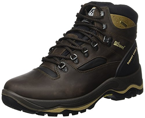 Grisport Men's Quatro Hiking Boot Brown CMG614 8 UK