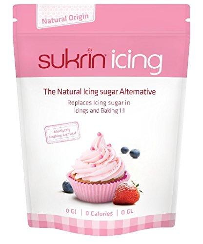 Sukrin Melis Icing Sugar has Zero Calorie and GI. An All Natural Sweetener alternative to Powdered Icing Sugar (200g)