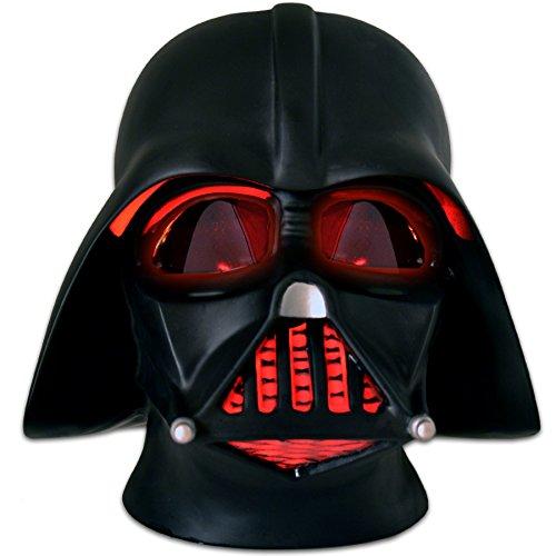 Lámpara Guerra Galaxias Darth Vader 3D Luz nocturna 26x25x24cm