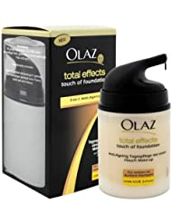Olaz Total Effects BB Cream Touch Foundation Dunkle Haut, 50ml