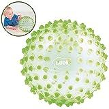 Ludi–Pelota sensorial transparente verde Talla:Norme