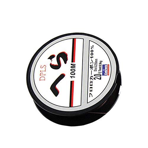 Vektenxi Angelschnur Nylon Leichte Angelschnur Mit Spool 100m Seefisch Linie Angelzubehör Für Unterhaltung Im Freien 0,35mm -