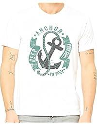 Mint Doodles Herren T-Shirt weiß weiß