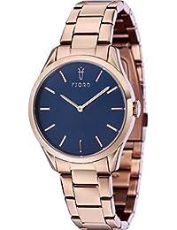 Fjord Analog Blue Dial Women's Watch - FJ-6028-55