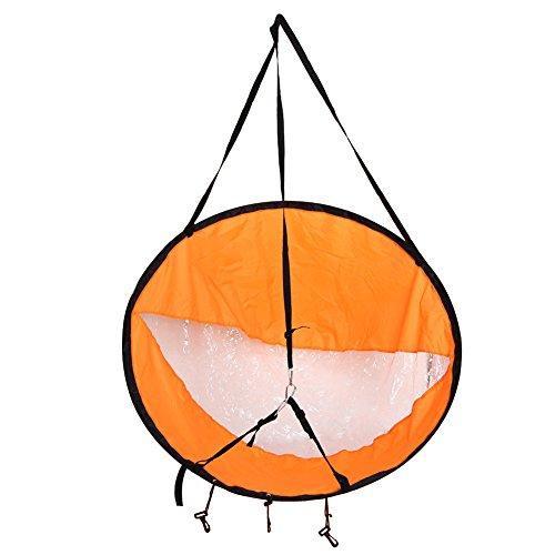 106,7cm Wind Sail, Faltautomatik vorwindbedingungen Segel für Kajaks, Kanus, aufblasbare Boote, Paddle Board