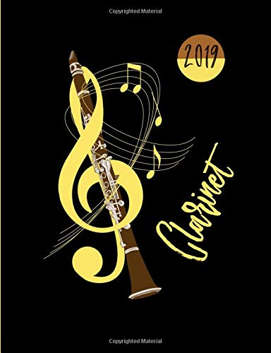 Clarinet Music: Daily Planner 2019