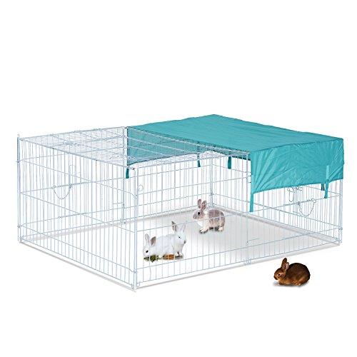 Jaula-Recinto-para-Animales-Pequeos-y-Mascotas-tipo-Gallinas-o-Conejos-para-exterior-jardines-y-patios