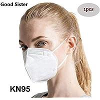 Mascarillas N95, Máscaras Desechables Protección de 5 Capas Reutilizable Transpirable y PM2.5 para Hombres y Mujeres para Deportes al Aire Libre, Fumar, Ciclismo, Viajes