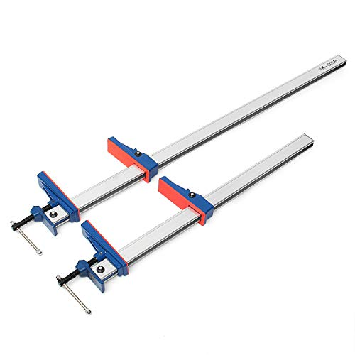 Verstellbarer Parallel Bars (Slider 24/91,4 cm Aluminium F-Klemmleiste Heavy Duty Halter Grip Release Parallel Verstellbares Holzbearbeitungswerkzeug)