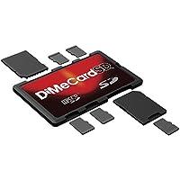 DiMeCard-SD: SD + microSD Memory Card Holder (credit card size