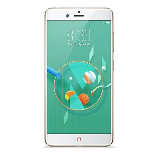 nubia Z17 mini Smartphone (13 cm (5,2 Zoll), 64GB interner Speicher, 4GB RAM, 2x 13MP Kamera, Android 6.0 Marshmallow) Champagne Gold