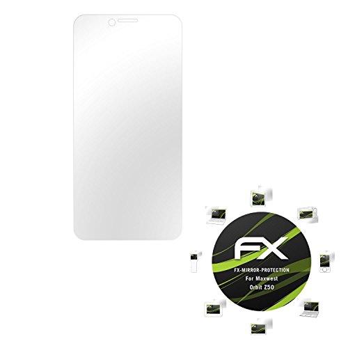 atfolix-proteccion-de-pantalla-maxwest-orbit-z50-lamina-protectora-espejo-fx-mirror-con-efecto-espej