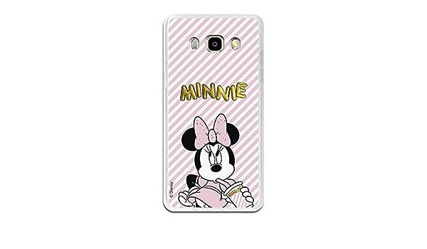 La casa delle Cover Cover Ufficiale Disney Minnie Gold Balloon Samsung Galaxy J3/2016/