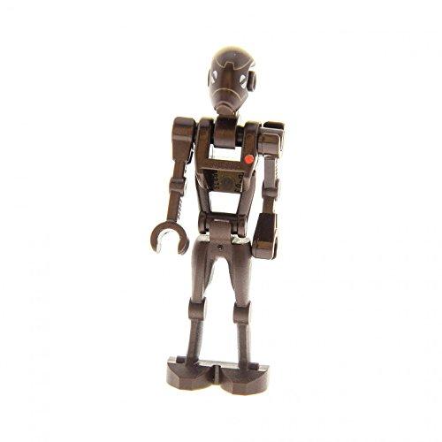 1 x Lego System Figur Droide Star Wars Clone Wars Commando Droid Torso dunkel braun 30375pb01 98103pb01 42687 59230 30377 sw359 (Lego Figuren Star Wars Droiden)