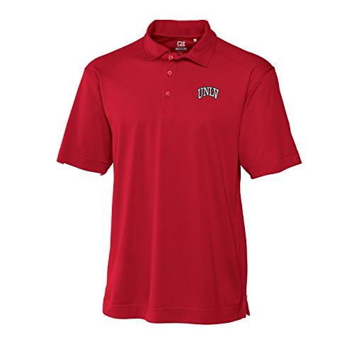 Cutter & Buck NCAA Unlv Rebels Men's Genre Polo Shirt, Red, X-Large
