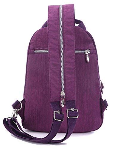 Keshi Leinwand neuer Stil Damen accessories hohe Qualität Einfache Tasche Schultertasche Freizeitrucksack Tasche Rucksäcke Rosa