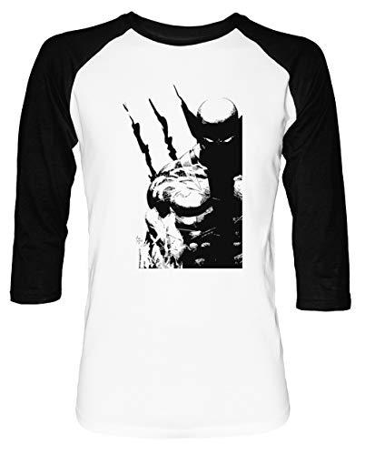 Los Mejor A Qué Yo Hacer Hombre Mujer Unisex Camiseta De Béisbol Blanca Negra Manga 2/3 Women's Men's Unisex Baseball T-Shirt Tamaño S Men's White T-Shirt Small Size S