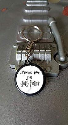 HARRY POTTER Porte clés 25 mm j'peux pas J'ai Harry Potter - Idée cadeau Noël Harry Potter Anniversaire Amie