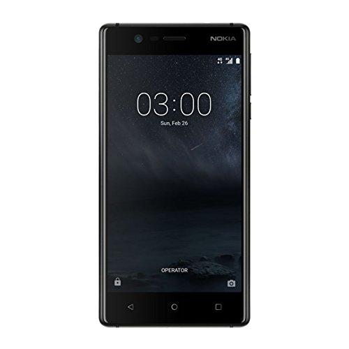 "Nokia 3 12,7 cm (5"") 2 GB 16 GB Doppia SIM 4G Nero 2630 mAh"
