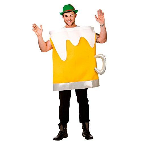 Bier Becher - Erwachsene Karneval / Halloweenkostüm - - Für Erwachsene Bierfass Kostüm