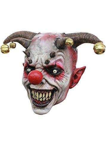 Halloween Maske mit Glocken (Jester Halloween-maske)