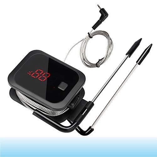 BELVON 1Pc Food Cooking Bluetooth Wireless BBQ Thermometer